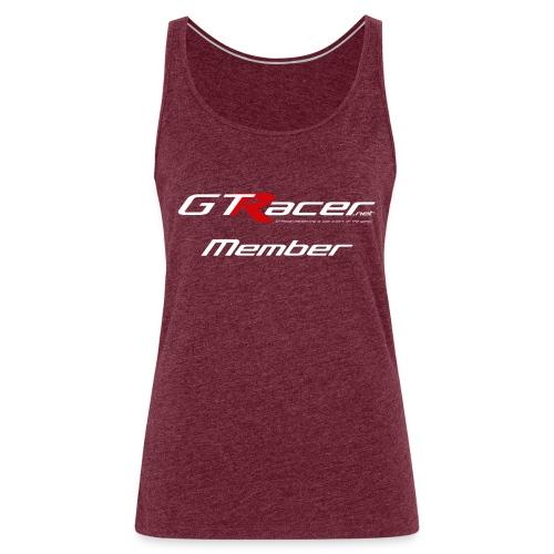 gtr shirtpulsar81 - Vrouwen Premium tank top