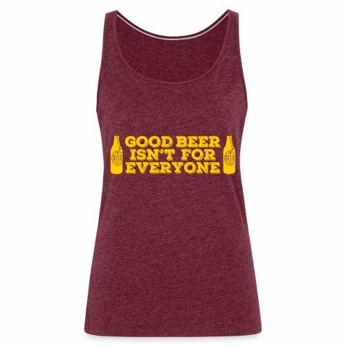 Good Beer - Women's Premium Tank Top