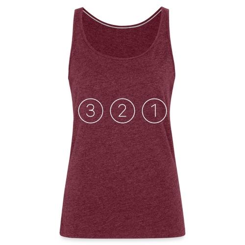 321 bianco - Canotta premium da donna
