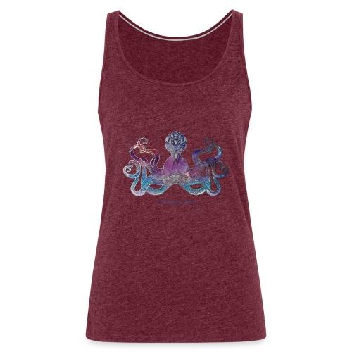 Pulpo Gigante - Camiseta de tirantes premium mujer