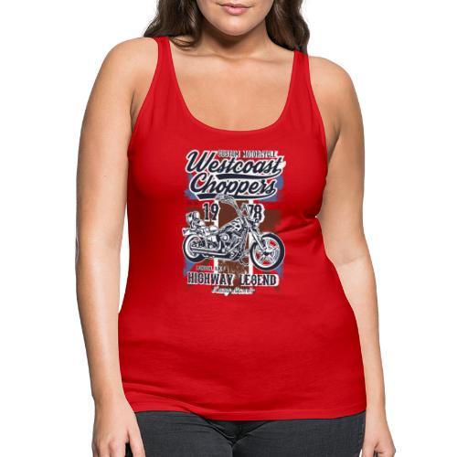 West Coast Chooper Tazzum - Camiseta de tirantes premium mujer