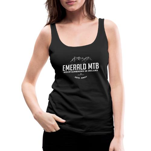 Emerald MTB logo - Women's Premium Tank Top