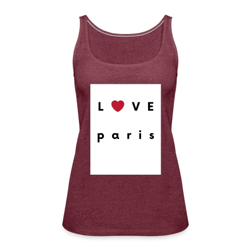 love paris france - Débardeur Premium Femme