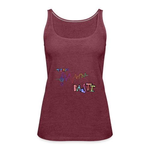 Team Basti Music/Rainbow - Frauen Premium Tank Top