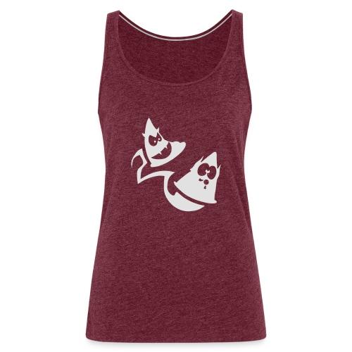 Conos diabolicos con estela - Camiseta de tirantes premium mujer