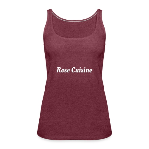 Rose Cuisine - Frauen Premium Tank Top