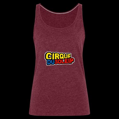 Cirque Du Soleip Letters - Vrouwen Premium tank top