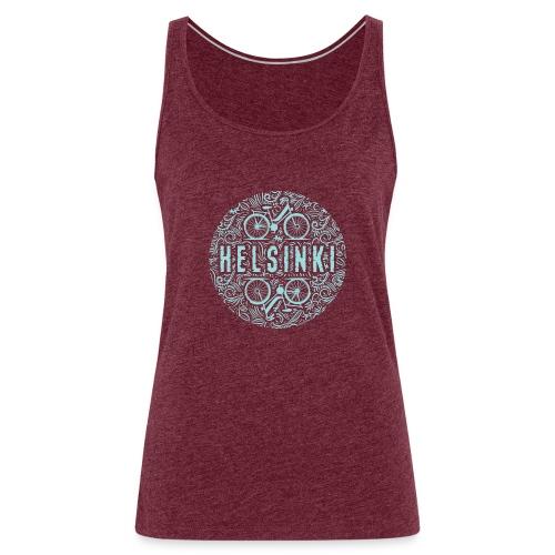 HELSINKI BICYCLE LIFE Textiles, Gifts for You! - Naisten premium hihaton toppi