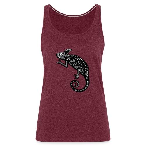 Esqueleto del camaleón - Camiseta de tirantes premium mujer