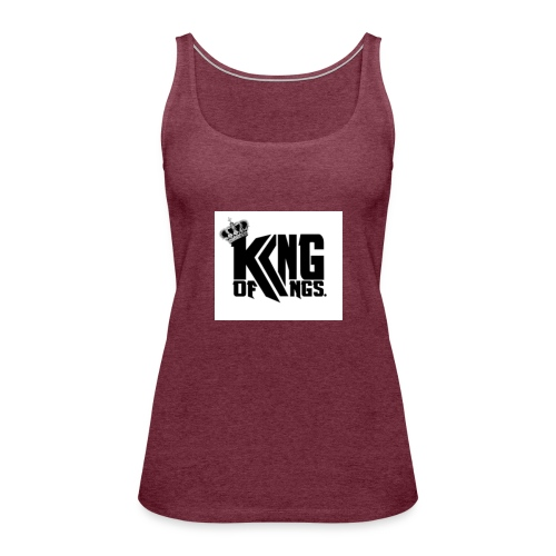KING OF KINGS - Tank top damski Premium