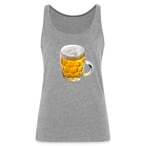 Boccale birra - Canotta premium da donna