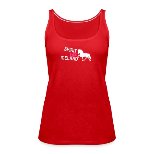 riders on the storm vorne1 - Frauen Premium Tank Top