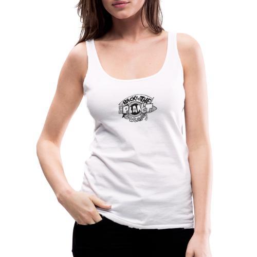 Back To The Planet Original Logo - Women's Premium Tank Top