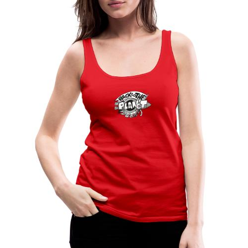 Back To The Planet Original Logo - Women's Premium Tank Top