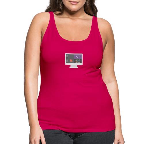Diseño web - Camiseta de tirantes premium mujer