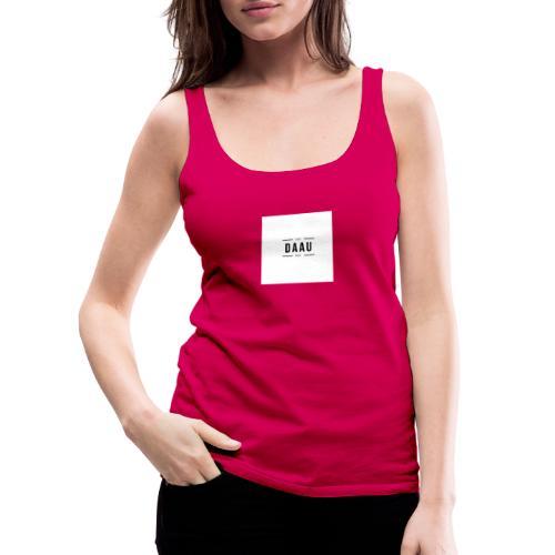 DAAU FIRST TRY - Camiseta de tirantes premium mujer