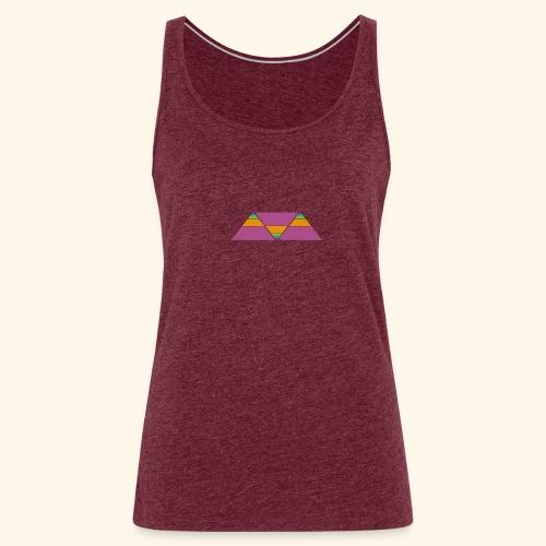 triangulos - Camiseta de tirantes premium mujer