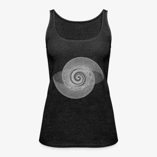 spiral lines - Canotta premium da donna