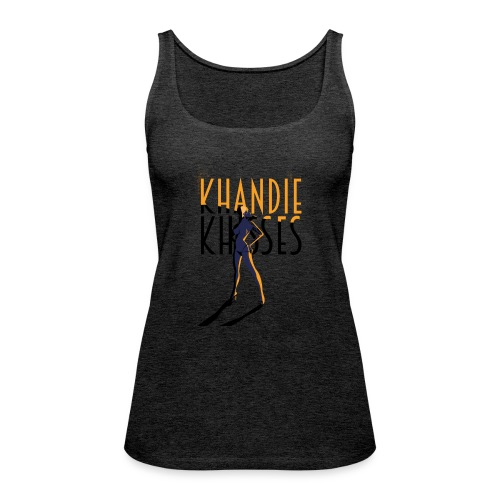 Art Deco Khandie Khisses - Women's Premium Tank Top