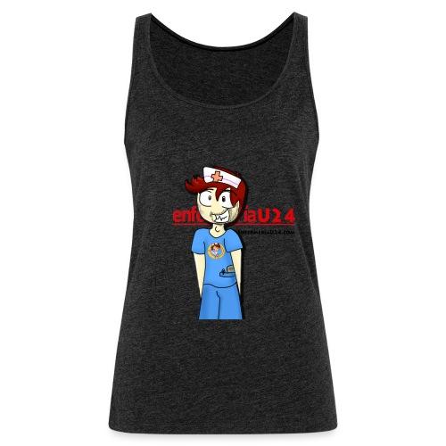 Enfermero Estresado U24 - Camiseta de tirantes premium mujer
