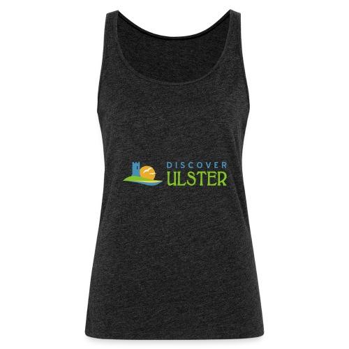 discover ulster logo - Women's Premium Tank Top