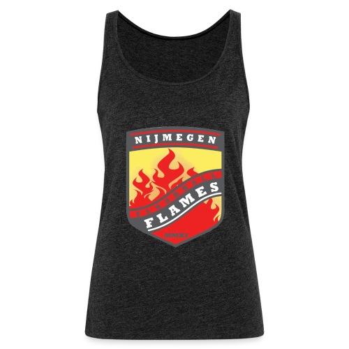 trainingsjack rood - Vrouwen Premium tank top