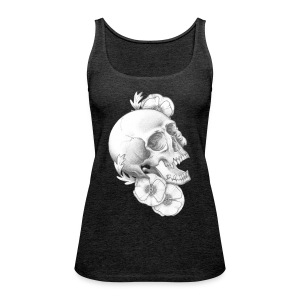 poppy skull - Frauen Premium Tank Top