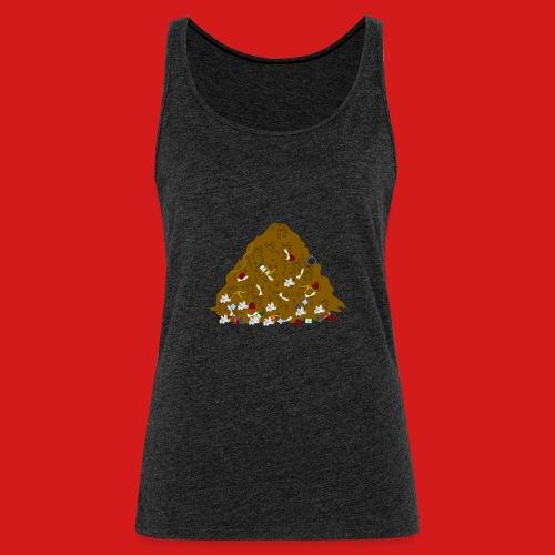 Junky's Junk Pile Logo Design Basic - Women's Premium Tank Top