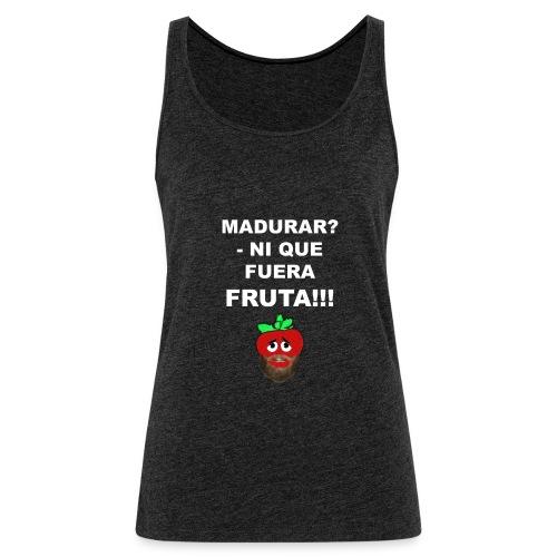 FRUTA - Camiseta de tirantes premium mujer