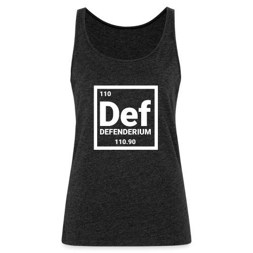 DEFENDERIUM - Vrouwen Premium tank top