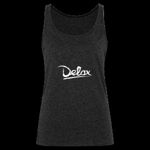 Delax White Logo - Vrouwen Premium tank top