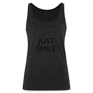 JustSmile Smile - Vrouwen Premium tank top