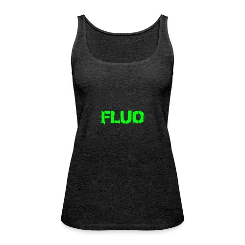 FLUO_trasparente - Canotta premium da donna