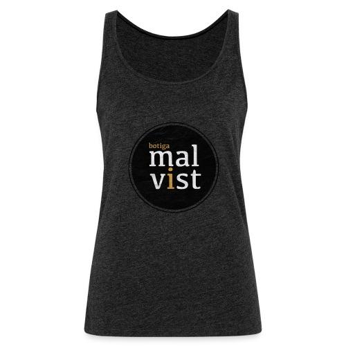 malvist - Camiseta de tirantes premium mujer