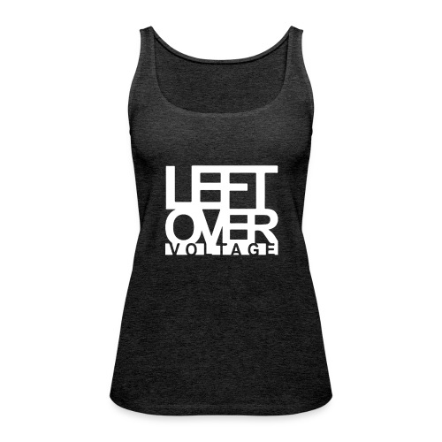 Leftover Voltage | Classic Logo - Frauen Premium Tank Top