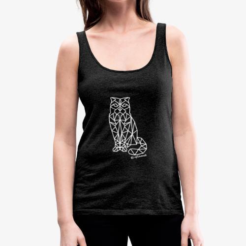 geometriCAT - Camiseta de tirantes premium mujer