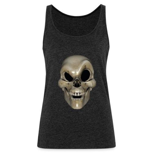 Smart Skull - Premium singlet for kvinner