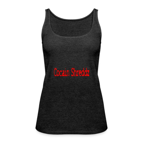 Cocain Shreddz red - Frauen Premium Tank Top