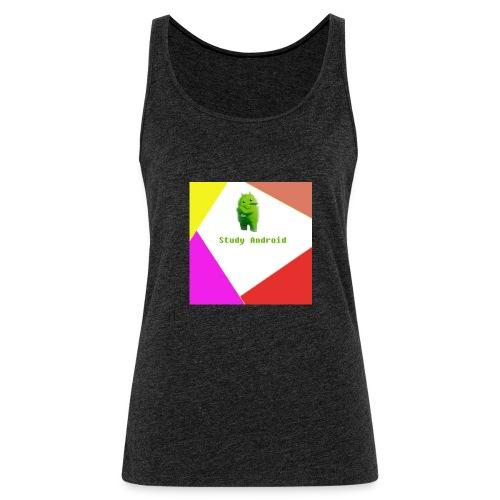 Study Android - Camiseta de tirantes premium mujer