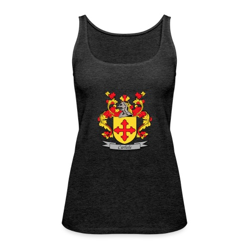 Carlisle Family Crest - Women's Premium Tank Top