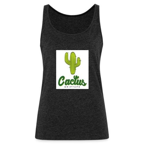 Cactus friptape - Camiseta de tirantes premium mujer