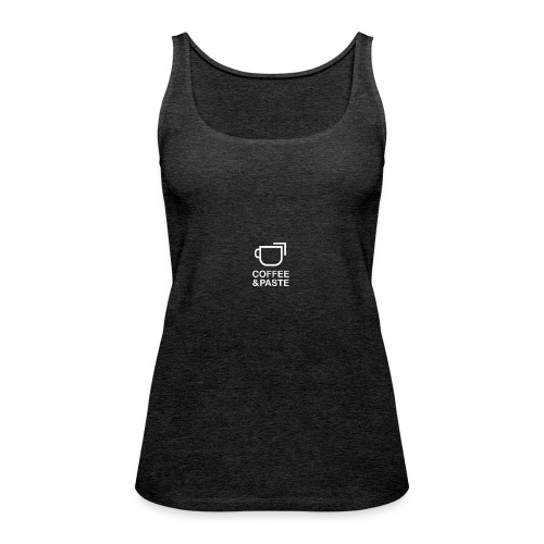 Coffee and Paste Logo - Frauen Premium Tank Top