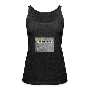 The Beginning - Women's Premium Tank Top