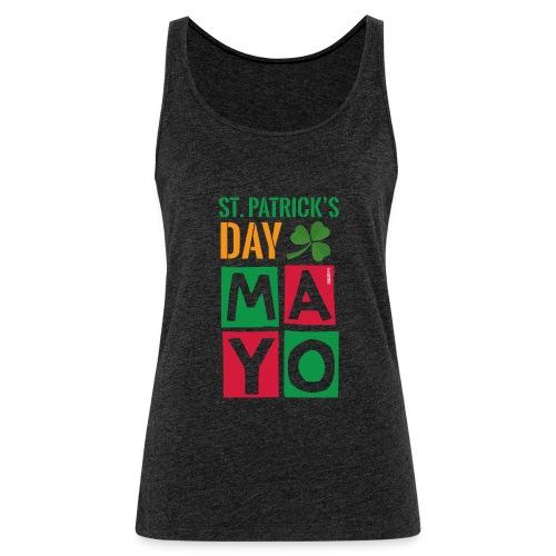Celebrate St. Patrick's Day in Mayo - Women's Premium Tank Top