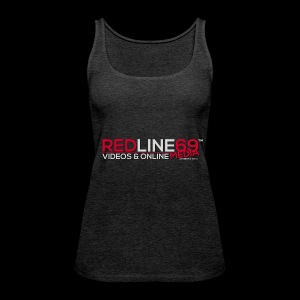Redline69 Media Logo - Women's Premium Tank Top