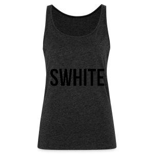 Swhite - Vrouwen Premium tank top