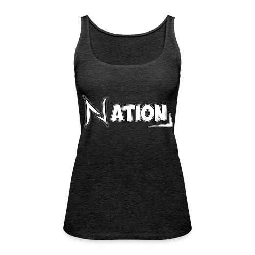Nation Logo Design - Women's Premium Tank Top