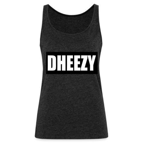 DHEEZY_logo_1 - Women's Premium Tank Top