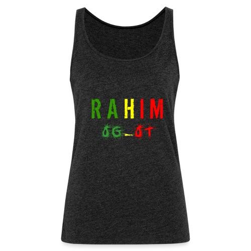 t-shirt design Rahim - Débardeur Premium Femme