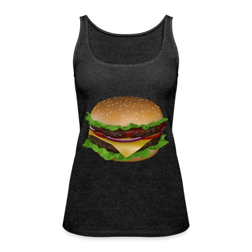 Burger - Premiumtanktopp dam